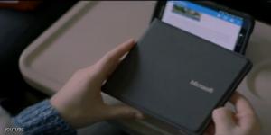 لوحة مفاتيح قابلة للطي من مايكروسوفت