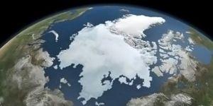 مساحة الطبقة الجليدية في المنطقة القطبية الشمالية تتقلص