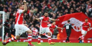 Arsenal storm to emphatic victory over Liverpool to go second