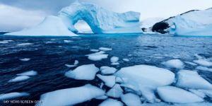 الأرصفة الجليدية في القطب الجنوبي
